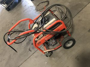 Pressure washer like new use it for like 20 hr water pump is out husqvarna for Sale in Riverside, CA