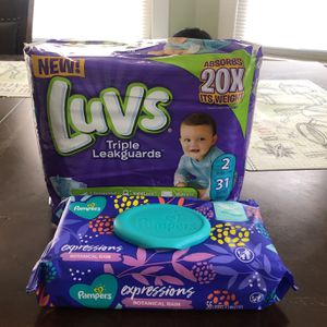 Diapers & wipes for Sale in New Haven, CT