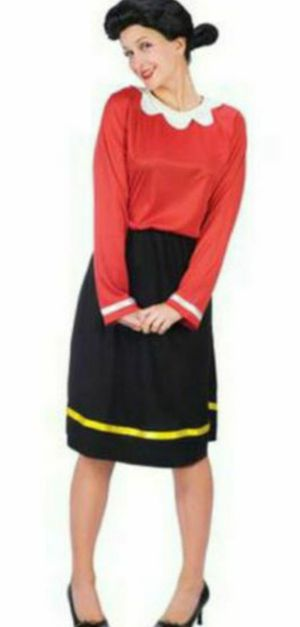 Plus size olive oyl costume popeyes halloween for Sale in Alexandria, VA