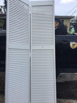 Bifold Closet Doors $25 ea 2/$40 for Sale in Davie, FL