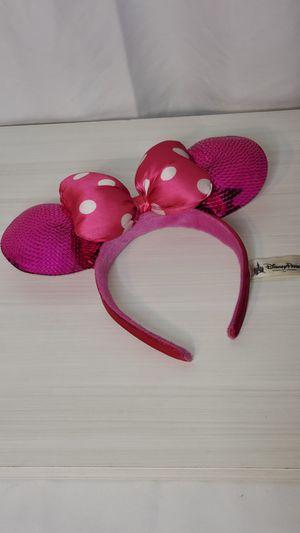 Disney parks Minnie mouse ear headband for Sale in Long Beach, CA