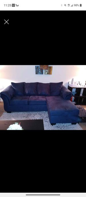 Reversible chaise lounge sofa for Sale in Portland, OR