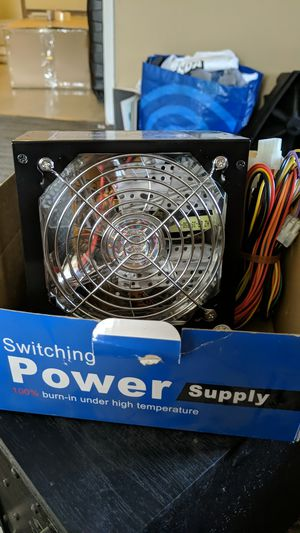 PC power supply 650w for Sale in Fontana, CA