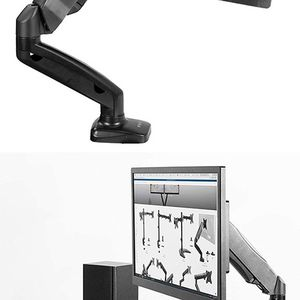 "(NEW) $20 VIVO (V001O) Height Adjustable Monitor Desk Mount Fully Articulating Single Arm, Screens up to 27"" for Sale in El Monte, CA"