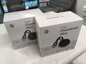 2 Chromecast Ultra for Sale in San Diego, CA