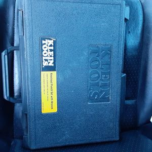 Klein Tools Knockout Punch Set With Wrench$100 for Sale in Anaheim, CA