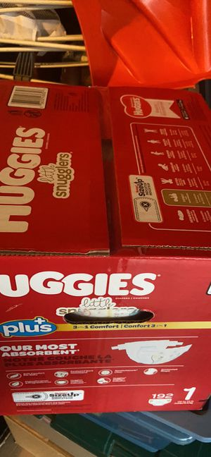 Huggies size 1 $40 OBO for Sale in Charlotte, NC