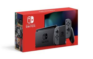 Nintendo Switch with Grey Joy-Con (Brand new and free same day delivery!) for Sale in Portland, OR