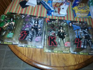 Kiss collectable action figures for Sale in Pekin, IL