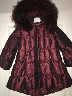 Manudieci Italy down coat girls size 4-6 years. New. $250 original $850 for Sale in Kinnelon, NJ