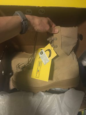 New Belleville military boots 9.5 R for Sale in Las Vegas, NV