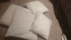 Set of 4 pillow inserts for Sale in Mercer Island, WA