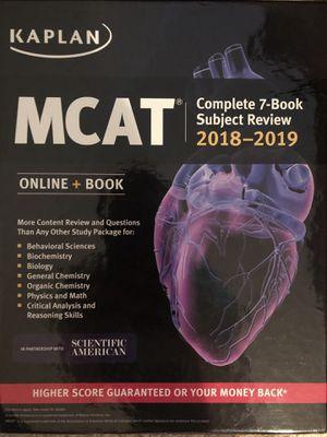 Kaplan MCAT 2018-2019 review books for Sale in Atlanta, GA