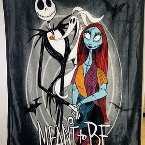 Nightmare before Christmas blankets for Sale in Dinuba, CA