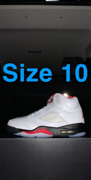 Jordan 5 Fire Red - Size 10 for Sale in Chicago, IL