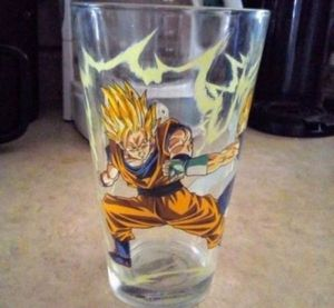 Dragon Ball Z Pint Glass Cup for Sale in Fresno, CA