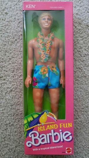 Island Fun Ken Barbie 1987 for Sale in Pennington, NJ