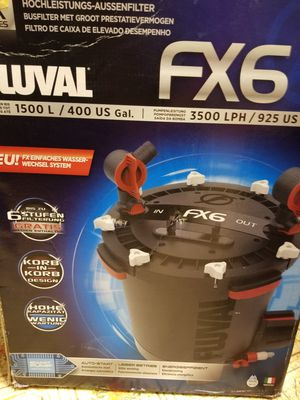 FLUVAL FX6 CANISTER FILTER for Sale in Monrovia, MD