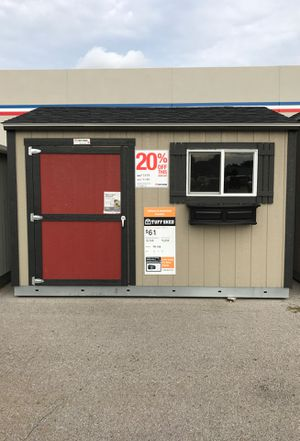 Tuff Shed TR-700 10 x 12. Was $3859.00 Now $3166.00 for Sale in O'Fallon, IL