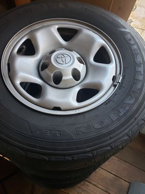 245/70/16 OEM Toyota Tacoma wheels and tires for Sale in Montclair, CA