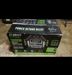 3000 Watt Ego Battery Powered Generator Home Depot for Sale in Vancouver,  WA
