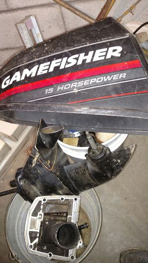 Lower unit for 15.9 or 9.9 outboard for Sale in Blackstone, VA
