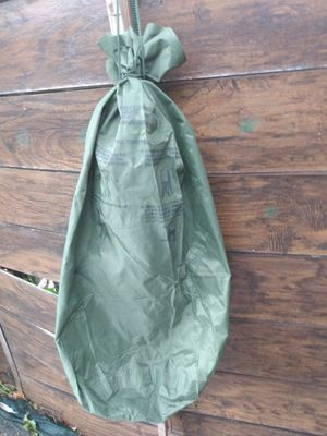 WATERPROOF CLOTHING BAG ( us army) condition very good for Sale in Miami, FL