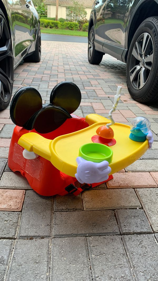 Mickey Mouse height chair