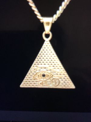 Pendant Necklace Charm and Chain(Please Read Description Completely) for Sale in Seattle, WA
