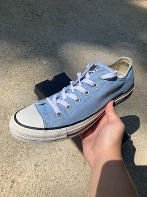Light Blue Converse 7/9 for Sale in Winston, GA