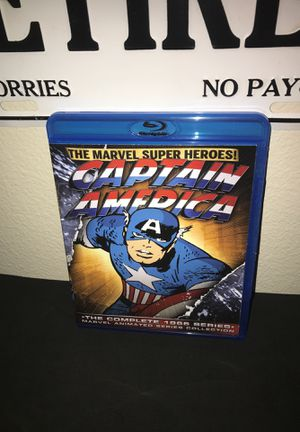 Captain America COMPLETE ANIMATED SERIES for Sale in Adelanto, CA