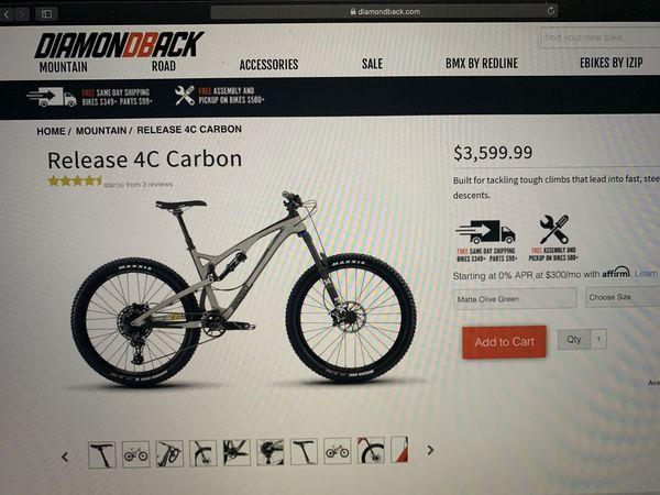 Diamondback Release 4C Carbon