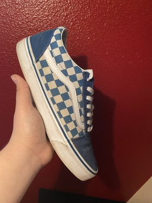 Blue checkered Vans for Sale in Hayward, CA