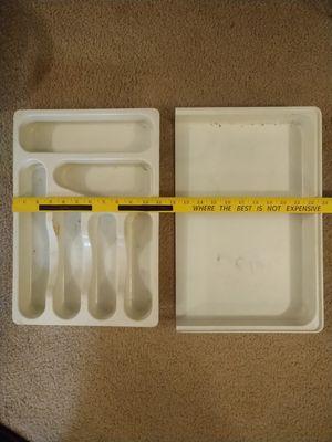 Hard plastic silverware holder for drawer for Sale in San Dimas, CA