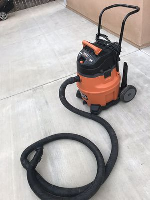 Ridgid 16 Gall. 6.5-Pick HP NXT Wet/dry Vacuum for Sale in Ontario, CA