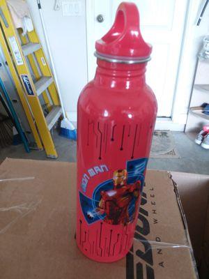Iron Man Water Bottle Metal New for Sale in Merritt Island, FL