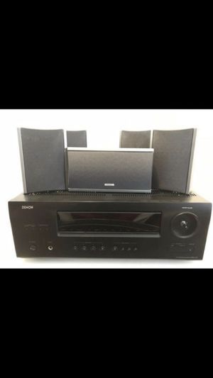 Denon avr 1712 A/V receiver + pioneer speakers for Sale in Port St. Lucie, FL