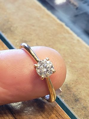.60 Diamond ring size 8 for Sale in Pflugerville, TX