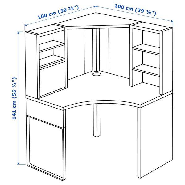 IKEA Micke Corner Desk