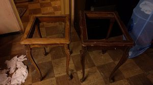 Antique stacking end tables for Sale in Philadelphia, PA