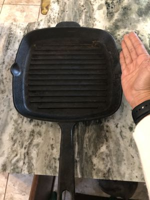Cast iron grilling pan for Sale in Malden, MA