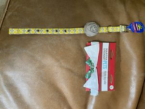 2 brand new different sizes Dog Collars $3 each for Sale in Fresno, CA