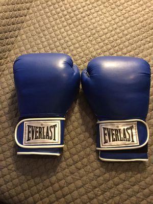 Everlast 16oz boxing gloves for Sale in Edmonds, WA