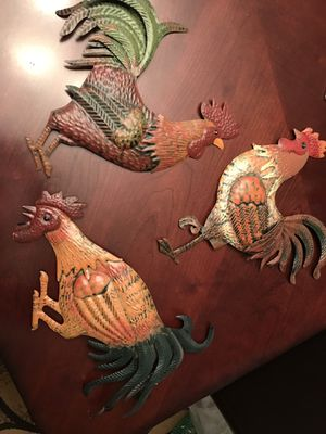 Kitchen rooster decor for Sale in Chicago, IL