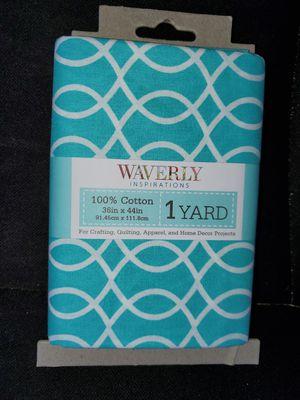 Light blue cotton fabric for Sale in Dixon, MO