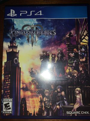 Kingdom hearts 3 ps4 for Sale in Buena Park, CA