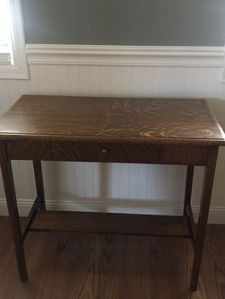 "Great condition entry way table. 34.5"" long x 30"" tall x 18"" deep for Sale in Tacoma,  WA"
