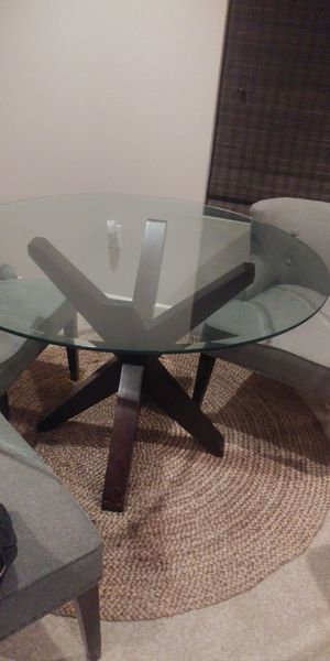 Z Gallerie Dining Table w/ chairs for Sale in Lakeside, CA