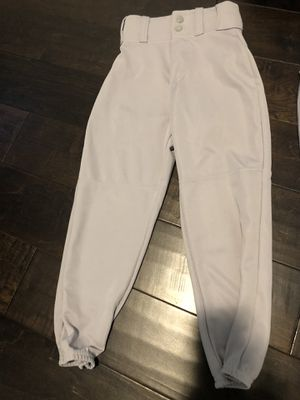 Unused youth sizes small gray baseball pants. for Sale in Coral Springs, FL