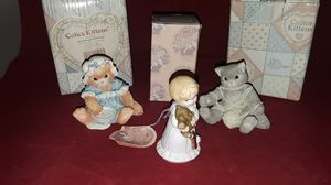 """3 ENESCO FIGURINED--2 CALICO KITTENS """"AN UNEXPECTED TREAT"""" & """"A PLAYFUL AFTERNOON PLUS """"GROWING UP"""" for Sale in Pompano Beach, FL"""